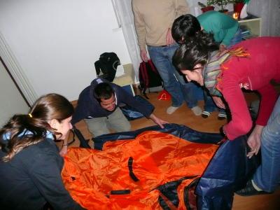 Палатка в стаята