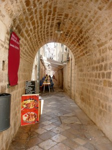 Dubrovnik - small street