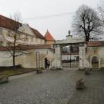 Крепостта в Словенска Бистрица