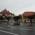 Центъра на Словенска Бистрица