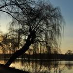 Залез над езерото
