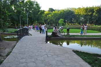 Ямбол - градската градина