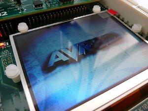 STK1000 LCD